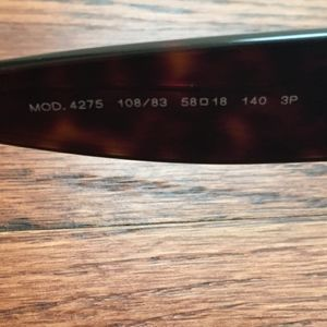 f93f7a5dbd56b Versace Accessories - Versace Sunglasses Mod 4275 108 83 w  Case and Box